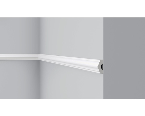 DECOFLAIR Sierlijst wand CL1 wit 4x1,5 200 cm