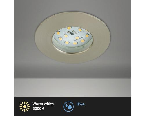 BRILONER LED Inbouwspot 8311 Ø 75 mm nikkel mat