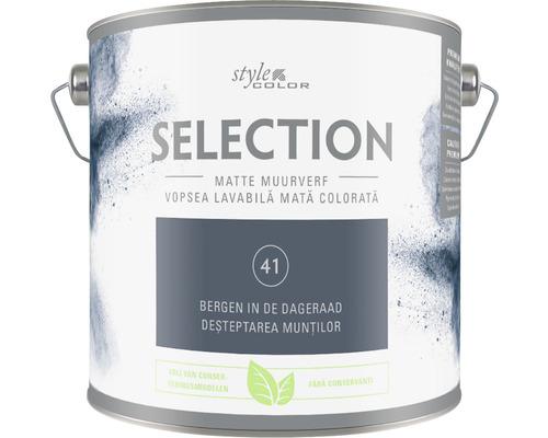 SELECTION StyleColor Muurverf kleur 41 Bergen in de dageraad mat 2,5 l
