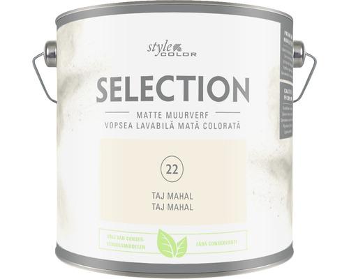 SELECTION StyleColor Muurverf kleur 22 Taj Mahal mat 2,5 l