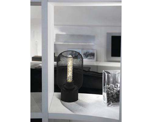 EGLO Vloerlamp Wrington zwart