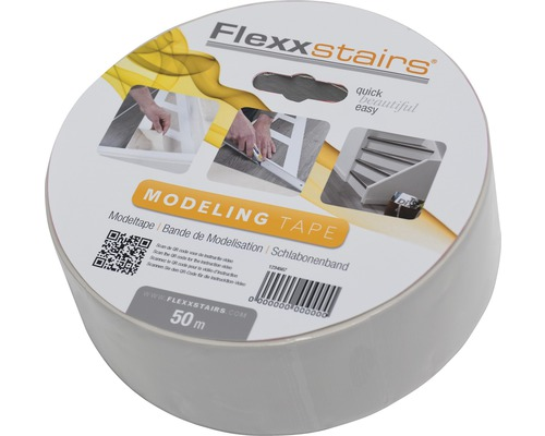 FLEXXSTAIRS Modeltape 50 mm x 50 mtr