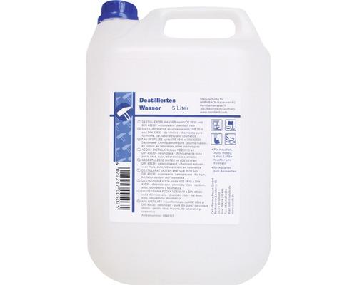 Gedestilleerd water 5 ltr