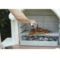 BUSCHBECK Grillrooster voor barbecuehaard 54x34 cm