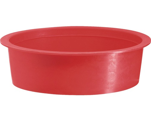 MARTENS Speciedeksel, PVC rood, Ø 32 mm