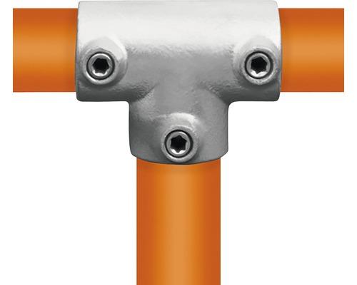 T- stuk lang steigerbuis Ø 33 mm