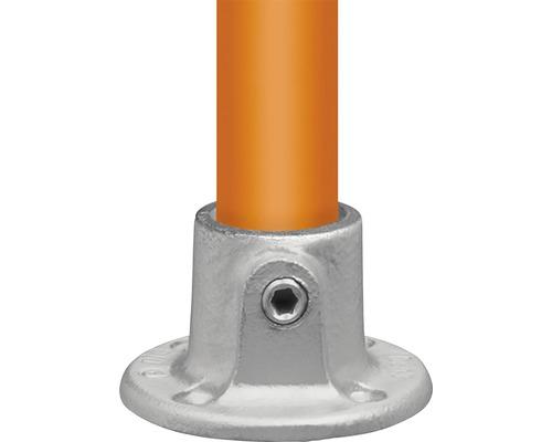 Voetplaat rond steigerbuis Ø 33 mm