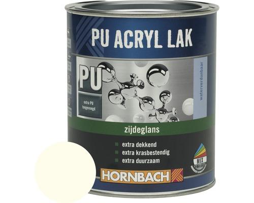 HORNBACH PU Acryl lak zijdeglans ral 9010 wit 2 l