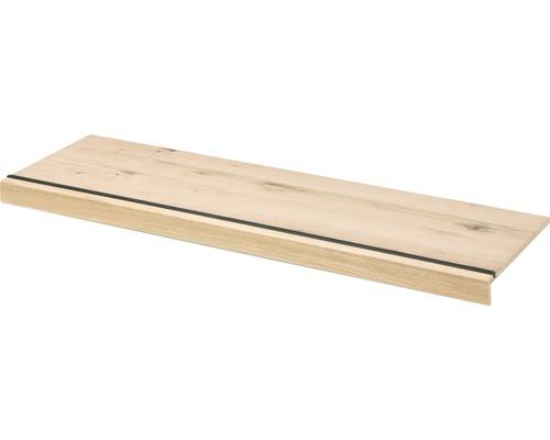 Overzettrede toplaag eiken 130 x 40 cm