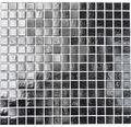 Glasmozaïek A 50 zwart 30,5x32,5 cm