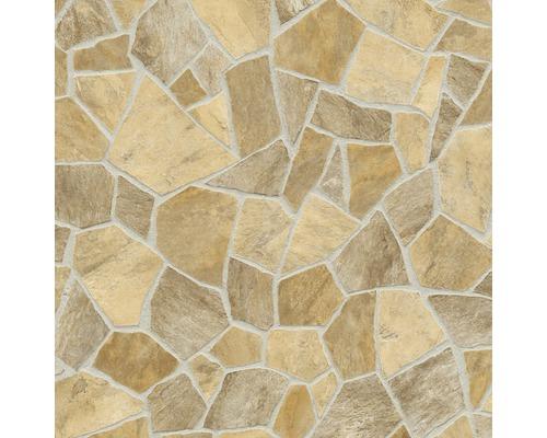 Vinyl Langli décor tegel beige 200 cm breed (van de rol)