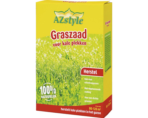 AZSTYLE ECOSTYLE Graszaad-extra 2 kg, 80-120 m²