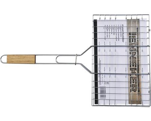Tenneker® keerbrader 95x36 cm roestvrij staal