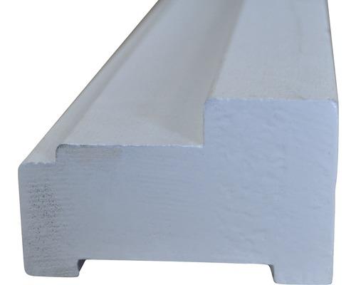 Hardhouten buitendeurkozijn wit gegrond profielmaat 66 x 110 mm maximale deurmaat 93 x 231,5 cm