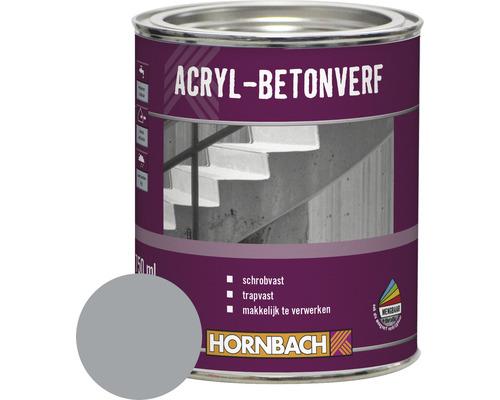 HORNBACH Beton en vloerverf acryl grijs 750 ml