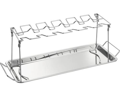 Tenneker® chicken-wing-houder roestvrij staal