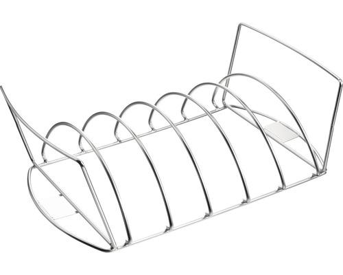 TENNEKER® Braadvlees- en spareribrooster RVS 43 x 22,5 x 12,5 cm