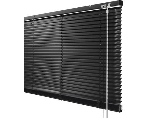 SOLUNA Aluminium verduisterende jaloezie zwart 100x170 cm