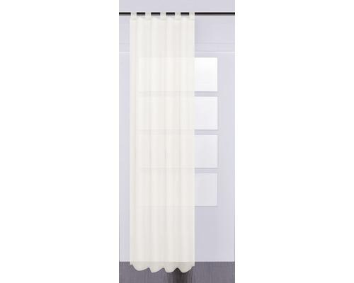 SOLEVITO Gordijn met lussen Effecto creme 130x245 cm