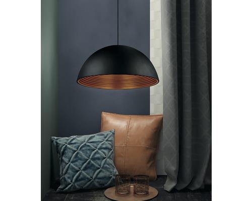 FLAIR Hanglamp Nashira Ø 40 cm zwart/goud
